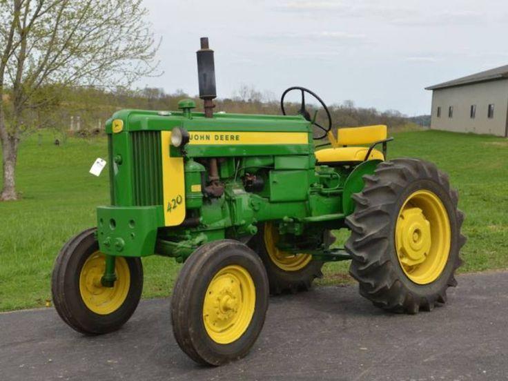 John Deere 420 | John Deere Tractors | Pinterest
