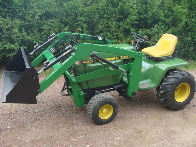 John Deere 420 Garden Tractor | Car Interior Design