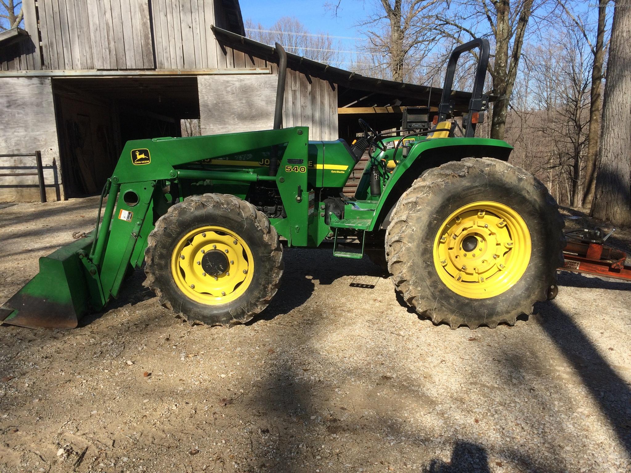 2000 John Deere 5510 Tractors - Utility (40-100hp) - John ...