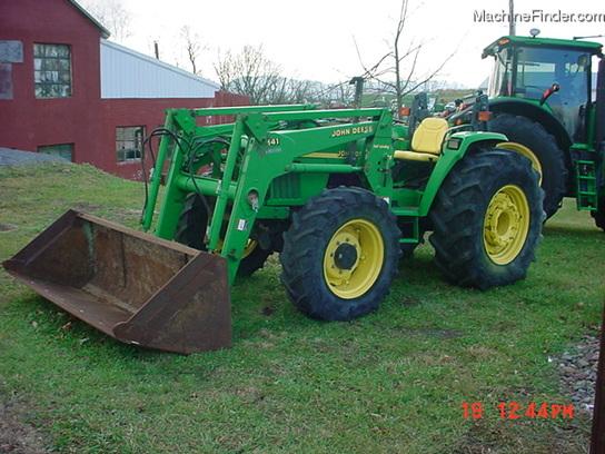 John Deere 5510 Tractors - Row Crop (+100hp) - John Deere ...