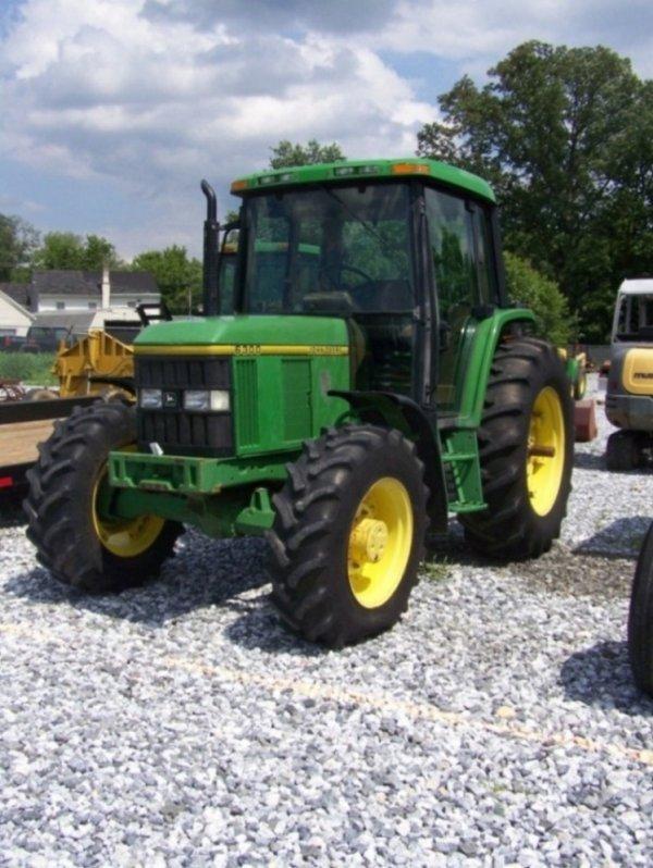 267: John Deere 6300 4x4 Farm Tractor with Cab : Lot 267