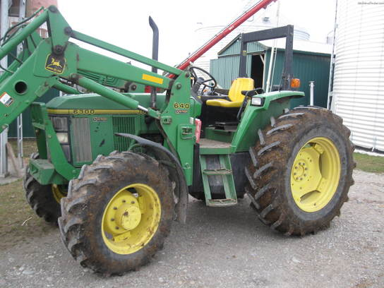 1996 John Deere 6300 Tractors - Utility (40-100hp) - John ...