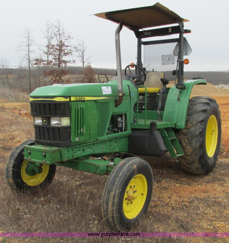 2001 John Deere 6410 tractor   no-reserve auction on ...