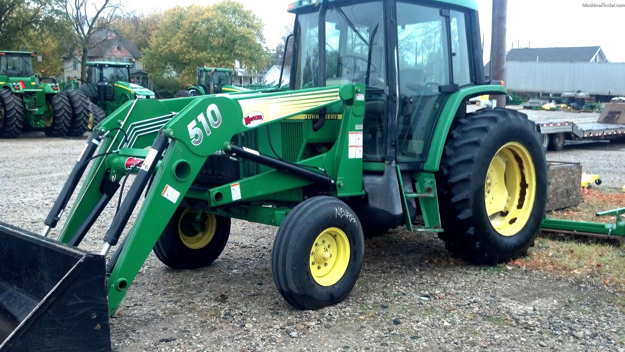John Deere 6410 Tractors - Utility (40-100hp) - John Deere ...