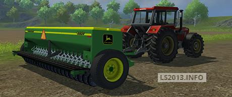 John Deere 8350 Seeder | LS 2013 mods