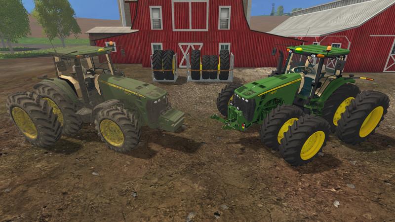 John Deere 8530 V3.0 USA Dirt - Farming Simulator 2015 ...