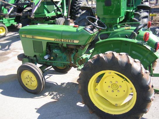 John Deere 850 Tractors - Compact (1-40hp.) - John Deere ...