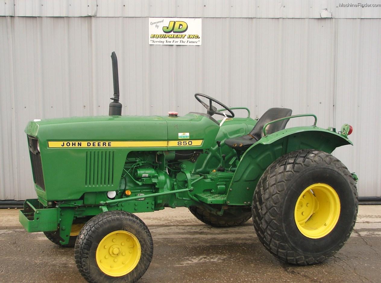 1979 John Deere 850 Tractors - Compact (1-40hp.) - John ...