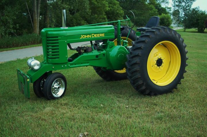 John Deere G Aluminum Radiator - Yesterday's Tractors (163890)