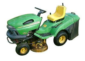John Deere LR 135 Lawn Tractor | eBay