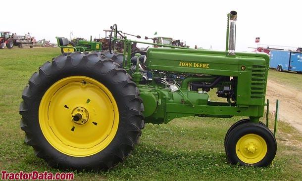 TractorData.com John Deere G tractor photos information
