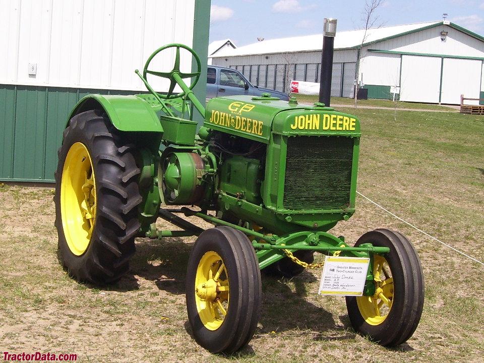 TractorData.com John Deere GP tractor photos information