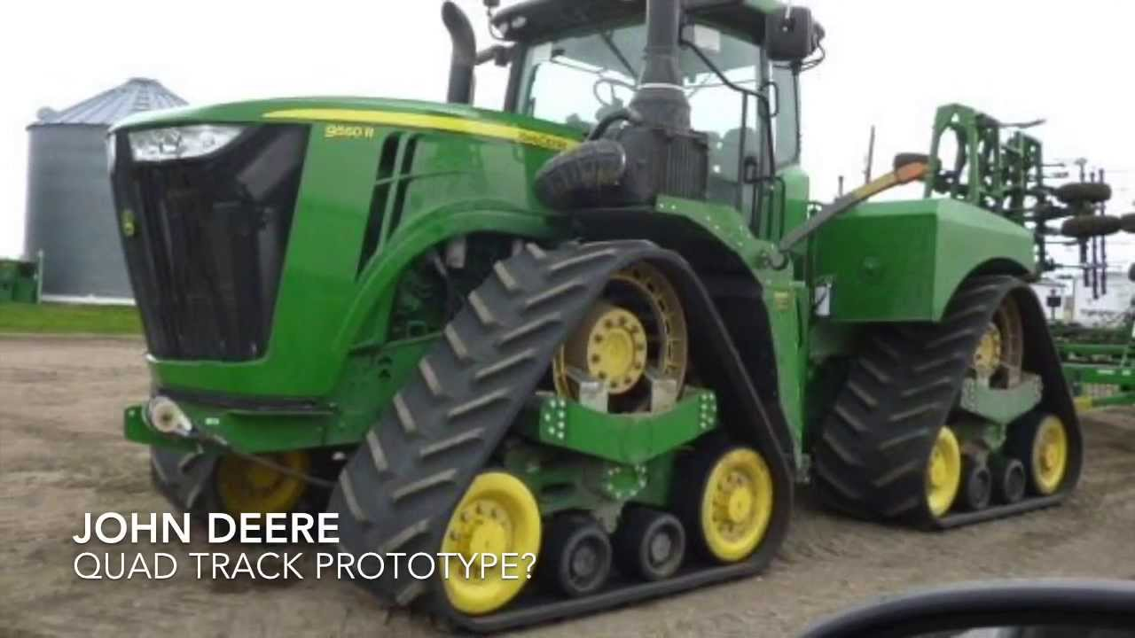 Quad Track Prototypes - John Deere, Case and Others - YouTube