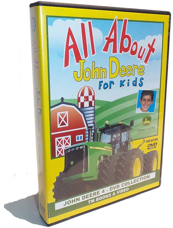 All About John Deere for Kids 4 DVD Collection Train Video TM Books ...