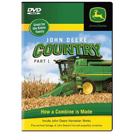John Deere Country DVD Part One- How a Combine is Made - Walmart.com