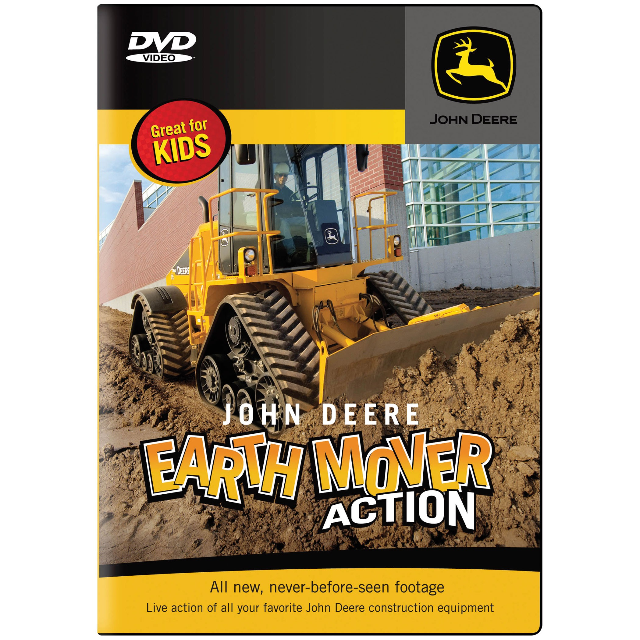 ... load rocks, and climb hills on the John Deere Earth Mover Action DVD