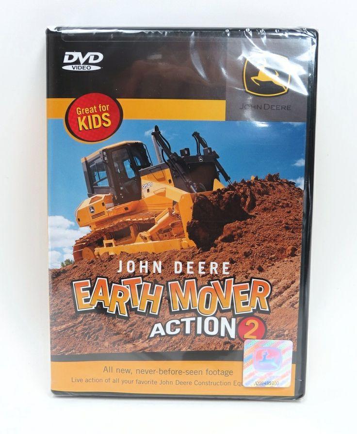 John Deere Earth Mover Action (2) DVD 40 min