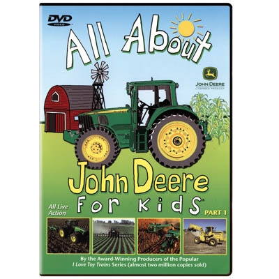 All About John Deere For Kids PART 1 DVD and more john deere movies