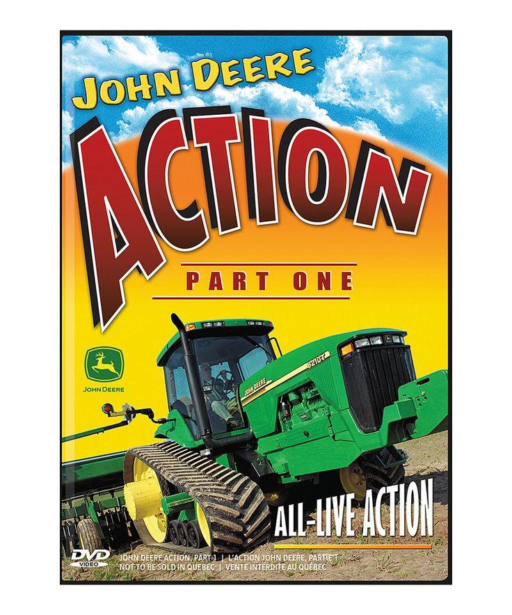 Look at this #zulilyfind! John Deere Action Part 1 DVD by John Deere # ...