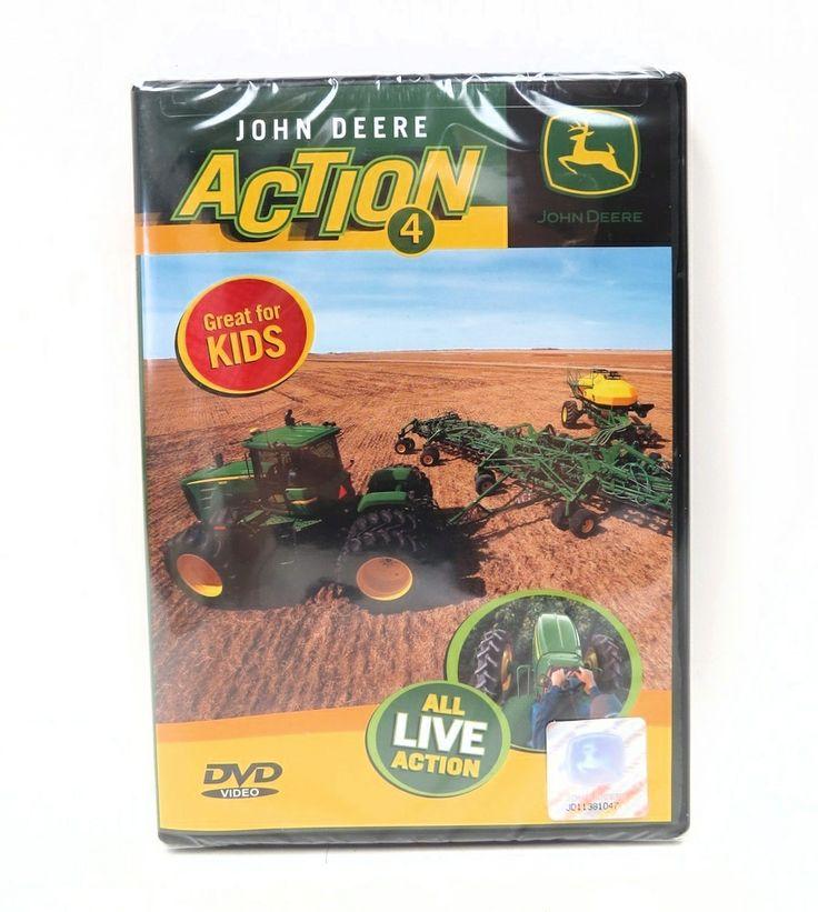 John Deere ACTION 4 DVD   Dvds & VHS   Pinterest