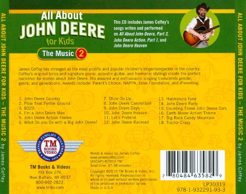 All About John Deere For Kids: The Music, Vol. 2 - James Coffey ...