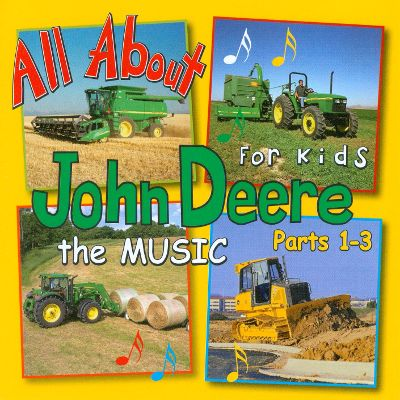 All About John Deere for Kids: The Music, Pts. 1-3 - James Coffey ...