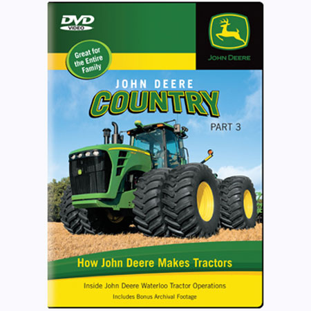 John Deere Country, Part 3 Live Action DVD 120 minutes - TMBJDTRACTOR