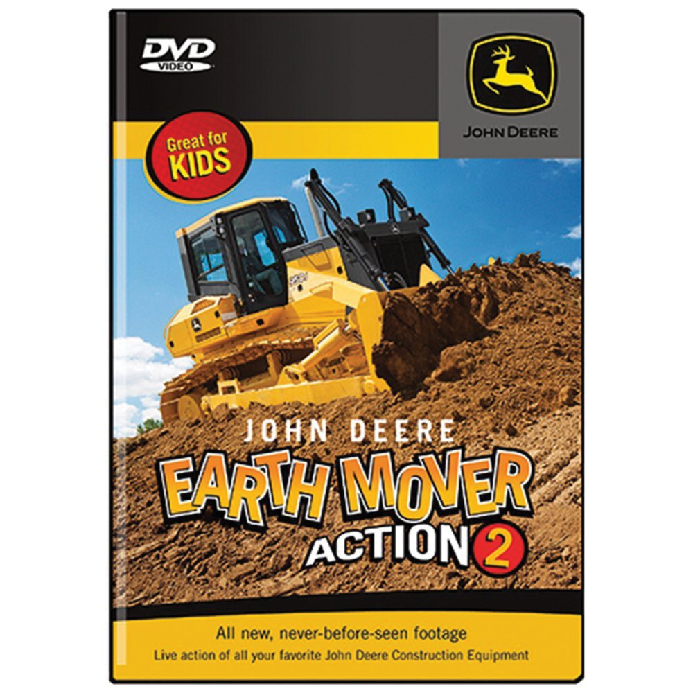 John Deere Earth Mover Action Part 2 DVD | QC Supply