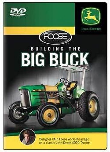 Building the Big Buck Chip Foose 4020 John Deere Tractor DVD NEW ...