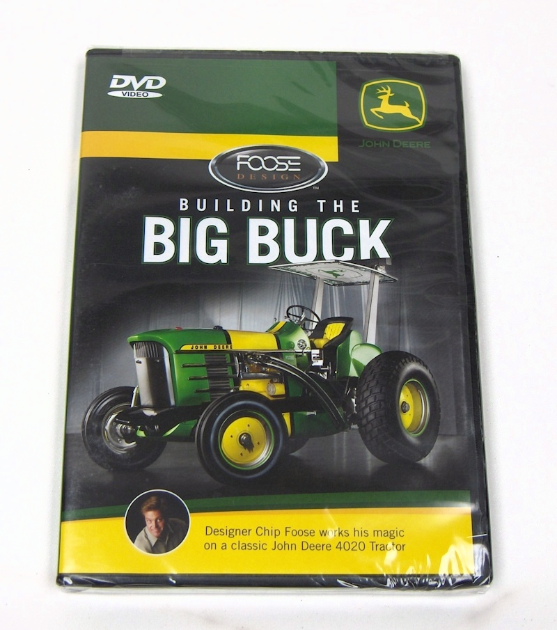 Building the BIG BUCK` DVD 40 min. by Chip Foose