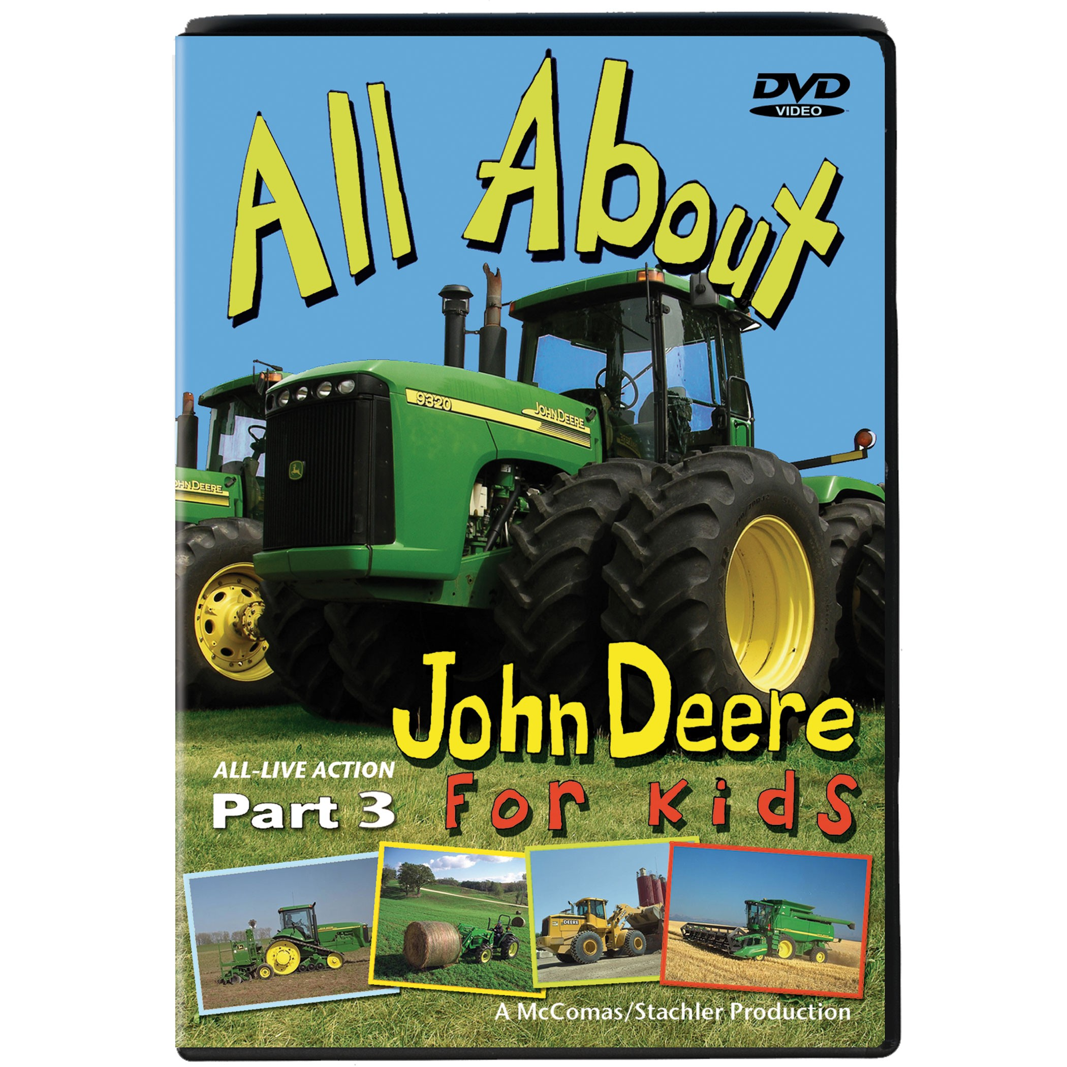 John Deere action and fun continues on All About John Deere DVD Part ...