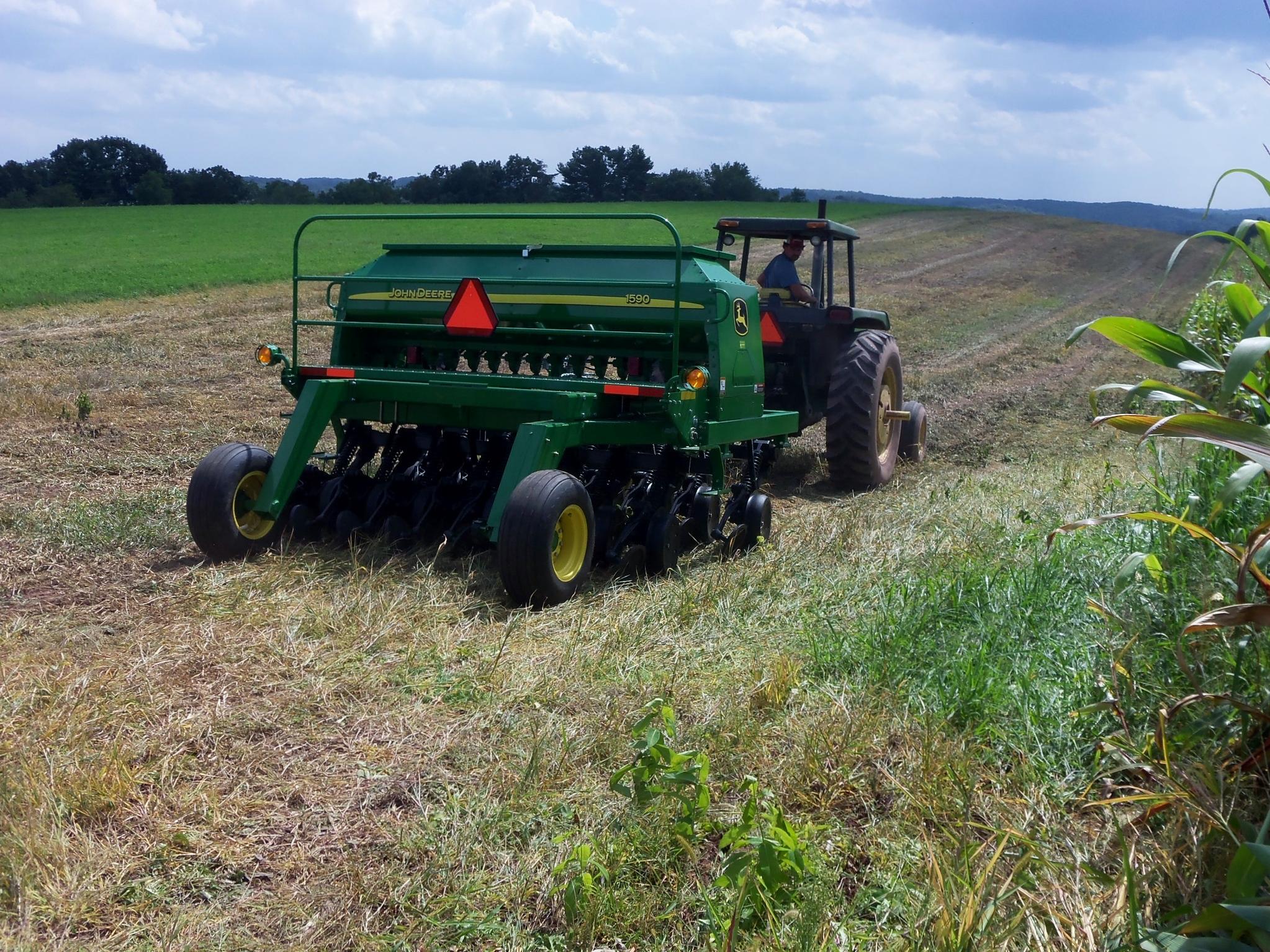 No-Till Drill Rental Program | Fulton County Conservation District