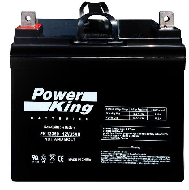 John Deere LA120 Mower CCA330 Replacement Battery