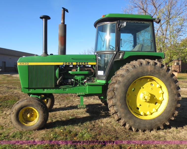 1975 John Deere 4430 tractor | no-reserve auction on ...