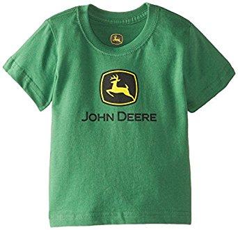 Amazon.com: John Deere Baby-Boys Infant Short Sleeve Trademark T-Shirt ...