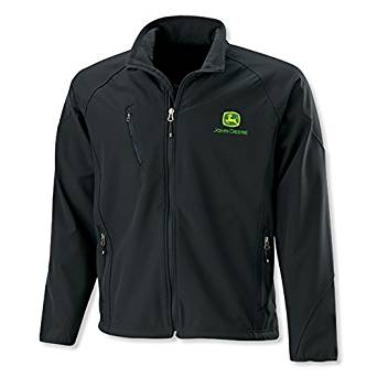 John Deere Jacket - Textured Soft Shell at Amazon Men's Clothing ...