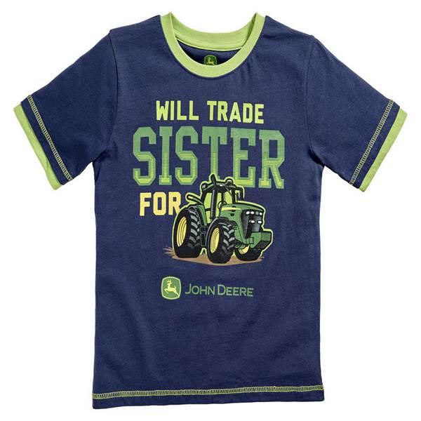 Toddler Boy's Navy Will Trade Sister T-Shirt