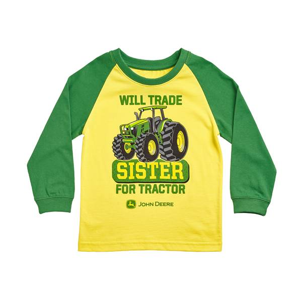 Boys' Will Trade Sister For Tractor Tee