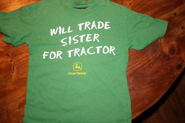... John Deere Boys size 4 T T-shirt