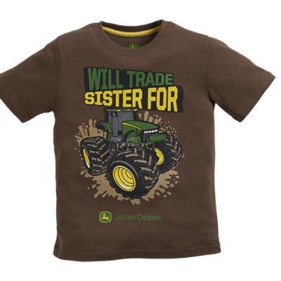 John Deere Boy's Brown Trade Sister Tee   WeGotGreen.com