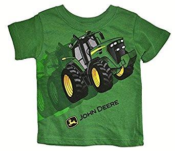 ... .com: John Deere Green Tractor Infant T-Shirt (12 Month): Clothing