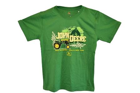 ... John Deere Adult T-Shirts > John Deere Green Quality Farm Tractor T