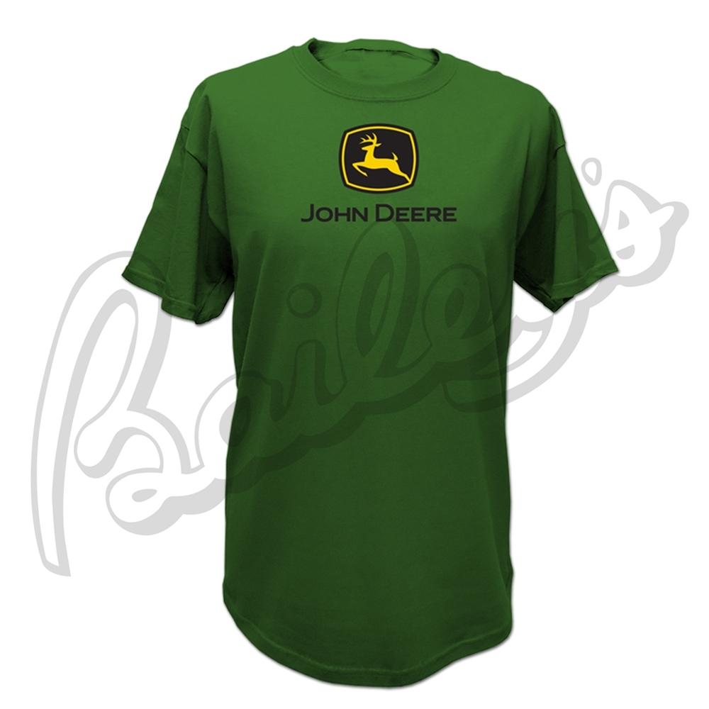 John Deere Men's Short Sleeve Logo Crew Neck T-Shirt   John Deere   T ...