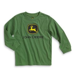 John Deere Logo Long Sleeve T-Shirt - Clothing | USFarmer.com