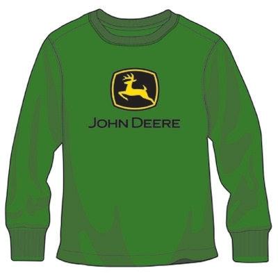 Boy's Green John Deere Logo T-shirts | WeGotGreen.com
