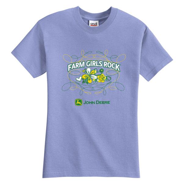 John Deere Youth Farm Girls Rock T-shirt - 139602