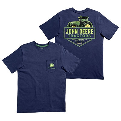 John Deere Boys Youth Navy Tee LP63871