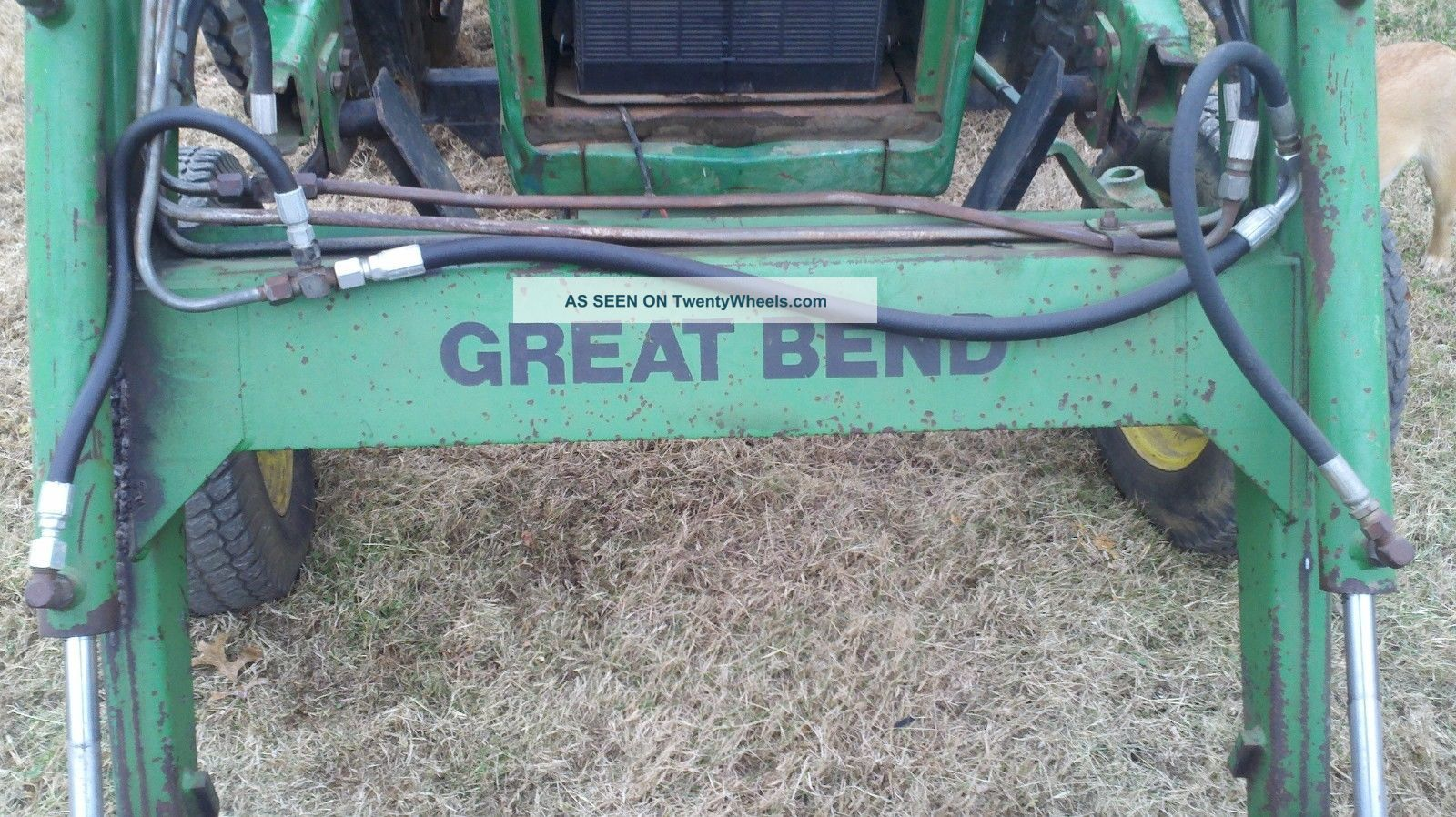 Great Bend Front End Loader For John Deere 950 And 1050 Tractors ...