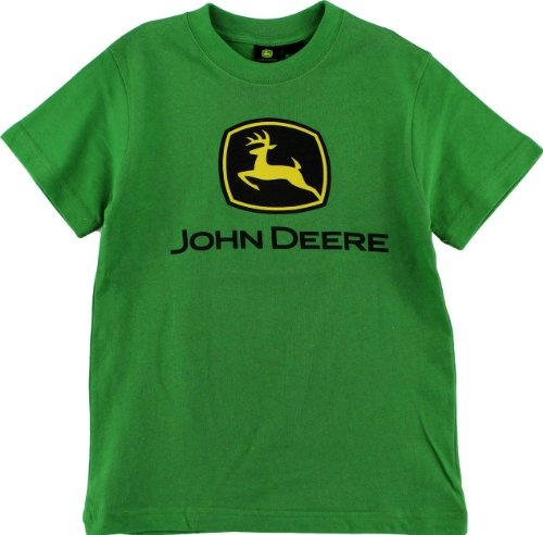 "John Deere ""Classic Logo"" Green Boys Short Sleeve"