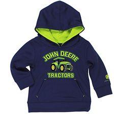 John Deere Boys' Tractor Tech Pull Over Hoodie John Deere #JohnDeere # ...